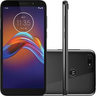 Celular Moto E6 Play Xt2029 32gb 2gb Ram 13mp Tela 5.5 Cinza