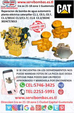Bombas De Agua Automotrices Caterpillar C1.1.1 Guatemala