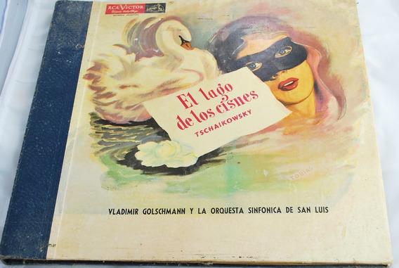Coleção Completa Disco Tschaikowski De 1928, Lago Dos Cisne