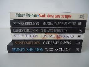 Lote De 6 Livros De Sidney Sheldon