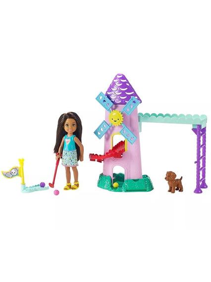 Boneca Barbie Conjuntos Da Chelsea Moinho Fdb32 - Mattel
