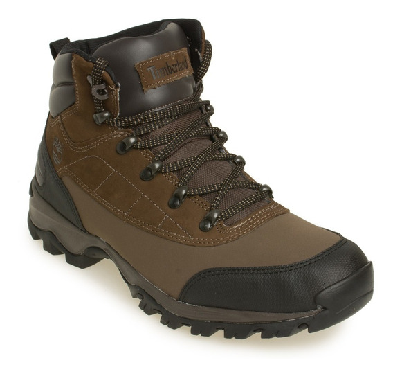 Bota Timberland Moto Trail Burnt Orange Black Marrom C/preto