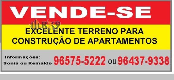 Terreno Para Venda, 380.0 M2, Independência - São Bernardo Do Campo - 618