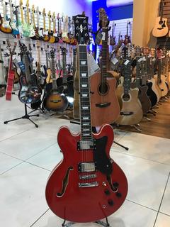Guitarra Semi Acústica Strinberg Shs300 Rd