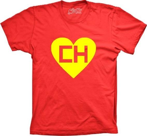 Camiseta Masculina Chapolin Colorado Tamanhos Especiais