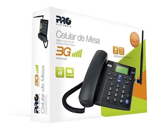 Telefone Rural Desbloqueado Com 3g Procs 5030 Proeletronic