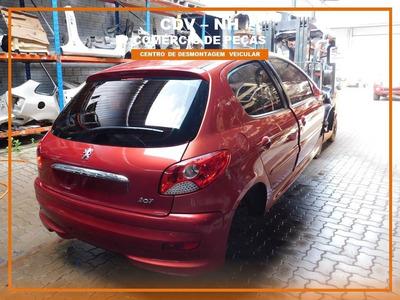 Sucata Peugeot 207 2012 1.4 82cv Flex