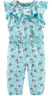 Carters Mono Volados Flores Bebe Nenas
