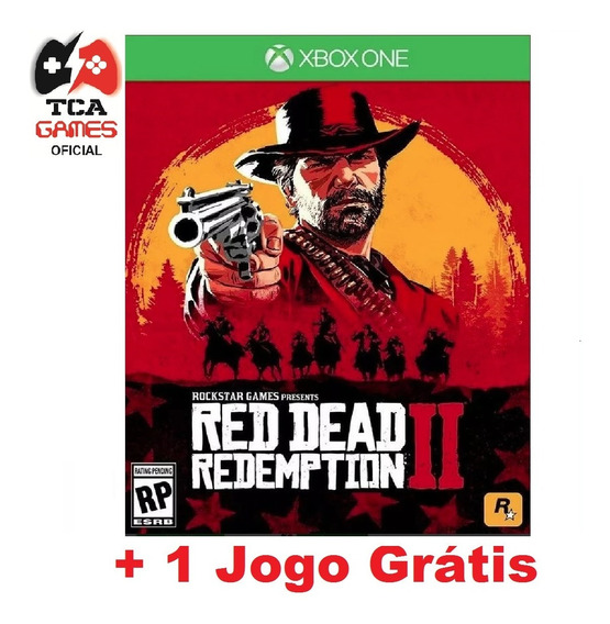 Red Dead Redemption 2 Xbox One Mídia Digital + Brinde