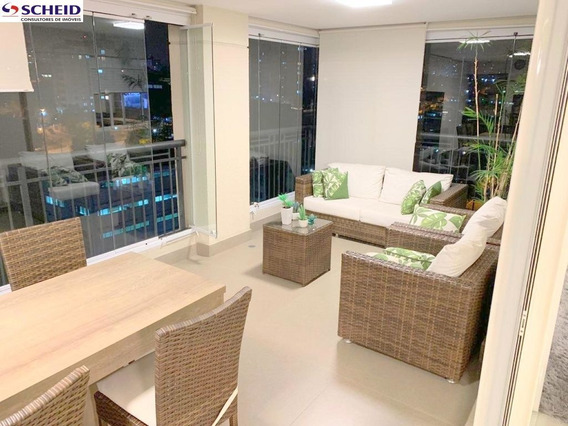 Apartamento Com Terraço Gourmet E O Lazer Mais Completo Do Bairro ! - Mc7331
