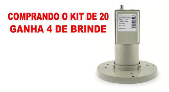 20 Lnbf Multiponto Banda C Com Filtro Wi-max Lm20 Promoção