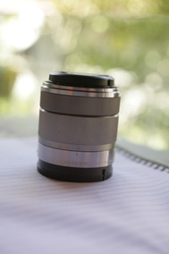 Lente Sony 18 55mm E Mount