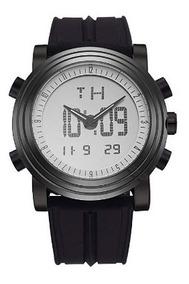 Reloj Para Hombre Sinobi De Cuarzo Deportivo Luz Led Negro