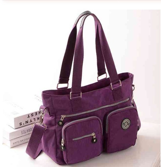 Bolsa Grande Repelente Al Agua Shoulder Bag Crossboby Bag G2