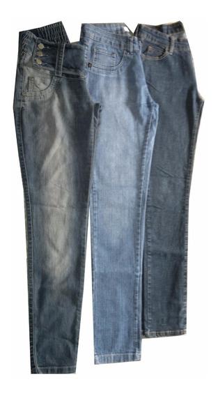 Lote 3 Calças Jeans 40
