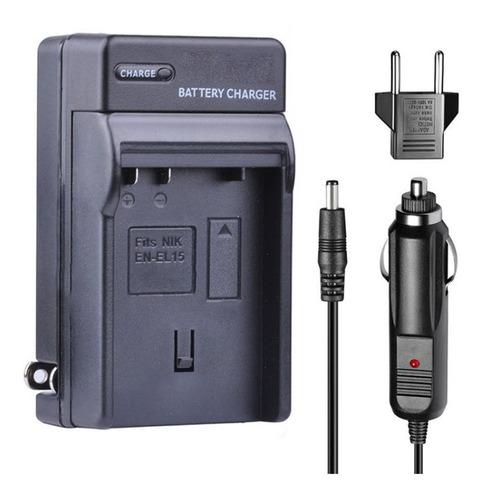 Cargador Bateria En-el15 Para Nikon D7000 D800 D800
