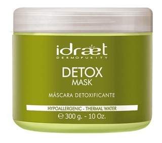 Detox Mask Máscara Detoxificante Idraet
