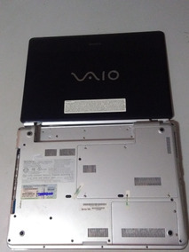 Carcaça Completa Notebook Sony Vaio Pcg-5l2l (car125)