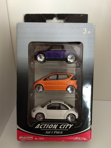 Realtoy Action City Gift Pack - 3 Un.