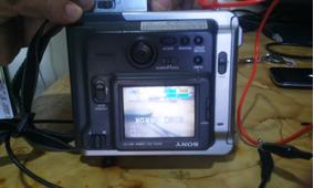 Camera Digital Sony Mavica Mvc-fd7 - Leia Antes-funcionando