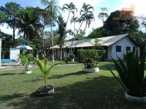 Chácara Com 5 Dormitórios À Venda, 3200 M² Por R$ 450.000,00 - Ana Dias - Itariri/sp - Ch0051