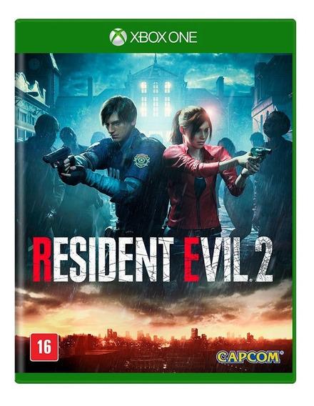 Resident Evil 2 Xbox One Mídia Física Novo Lacrado