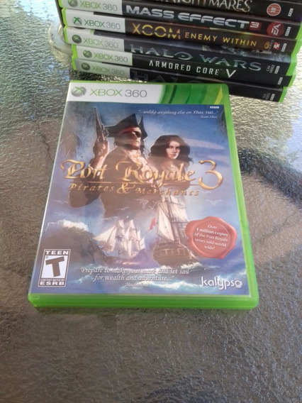 Port Royale 3 Pirates & And Merchants Xbox 360 Midia Física