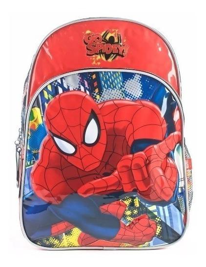 Mochila Spiderman Espalda Go Spidey! 16