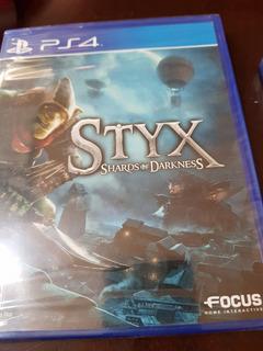 Styx Shards Of Darkness Juego Ps4 Nuevo Sellado