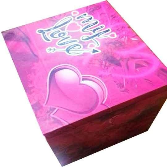 San Valentín Caja Personalizada Con Bombones..