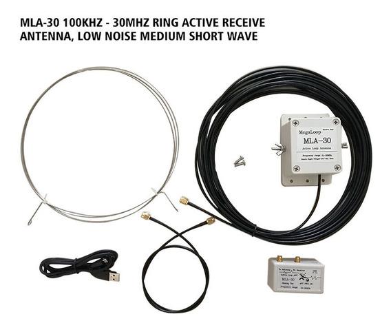 Mla-30 100khz - Anel De 30mhz Active Receive Antena, Baixo R