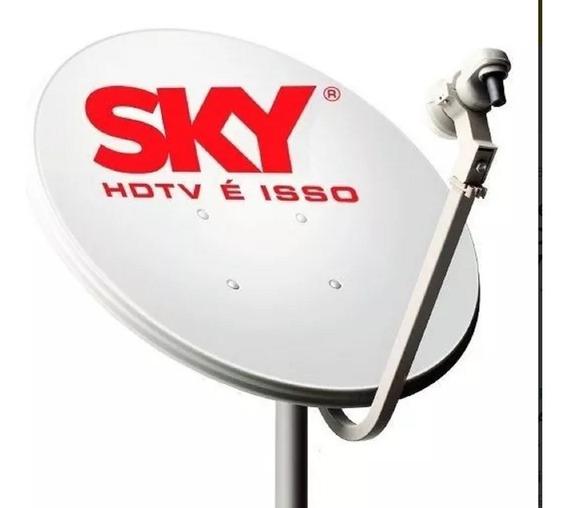 Cinco Antena Ku 60cm Sky + Lnb