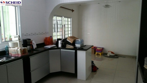 Imagem 1 de 15 de Sobrado Em Rua Sem Saída Com 03 Dorms E 03 Vagas - Mr65783