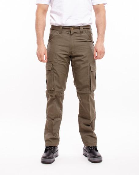Pantalon De Trabajo Pampero Cargo Antidesgarro Ripstop Pam32