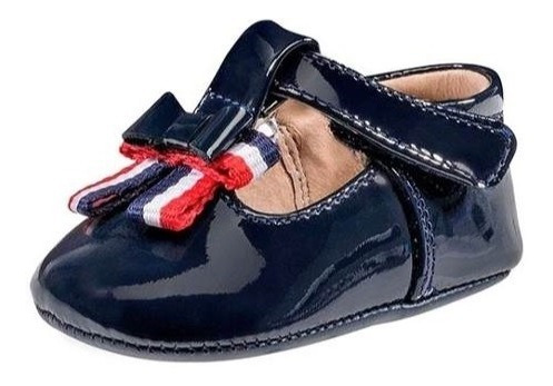 Zapato Casual Azul Marino (piel) Bebé