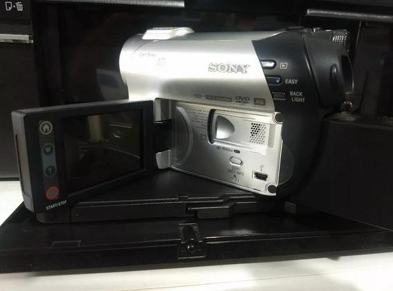 Filmadora Sony Dcr-dvd 108 Com Todos Acessórios + Bônus