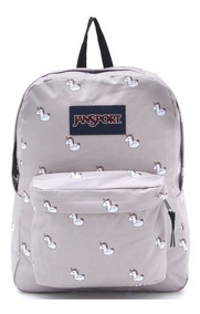 Mochila Jansport 25l Colorblock Cinza Unicor 11273 Original