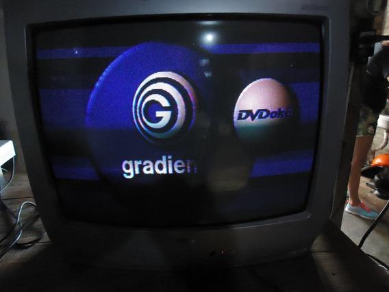 Antiga Tv Tubo 20 Polegadas Semp Com Controle Remoto Barato