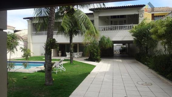 Casa 05 Quartos Interlagos De Itaúna Barra Da Tijuca Locação - Ca0124