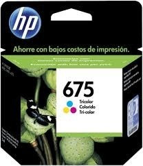 Cartucho Hp 675 Color