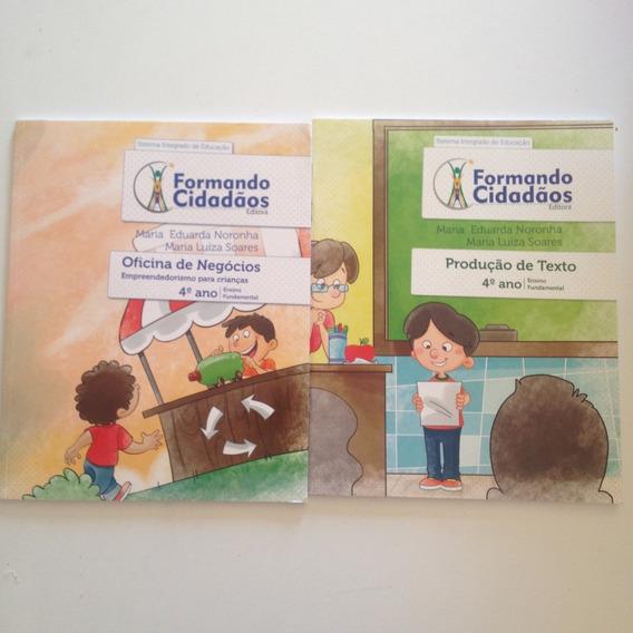 Livros Formando Cidadãos Kit C 4ª Ano Ensino Fundamental C2