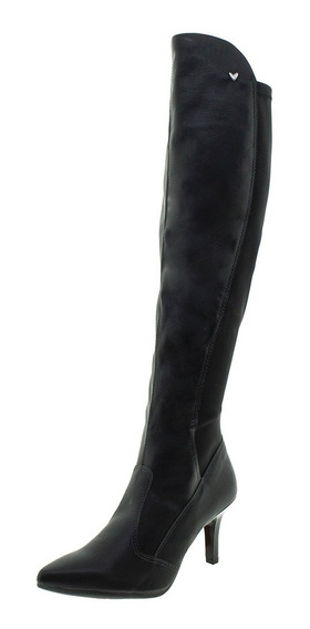 Bota Feminina Over The Knee Preta Mississipi - X9184