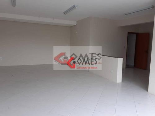 Imagem 1 de 25 de Sala Para Alugar, 150 M² Por R$ 2.700,00/mês - Jardim Do Mar - São Bernardo Do Campo/sp - Sa0398
