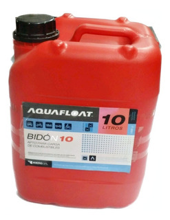 Bidon Nacional Para Combustible 10 Lts Aquafloat Envios!!