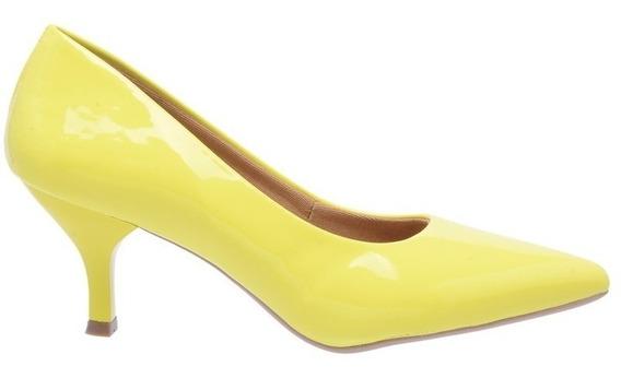Combo 2 Sapatos Scarpins Salto Médio 6,5cm Festa Noite Luxo