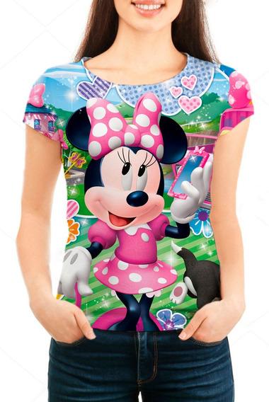 Camiseta Babylook Feminina Minnie - Mn02