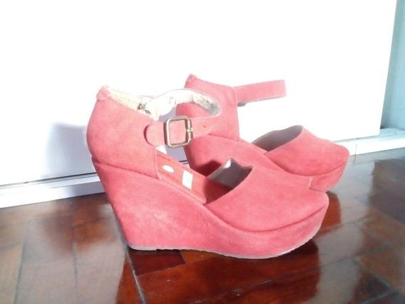 Zapatos Con Plataforma - Talle 39