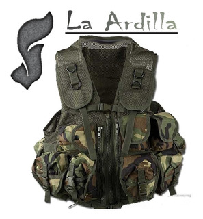 Chaleco Tactico Camo Combate Militar Special Forces
