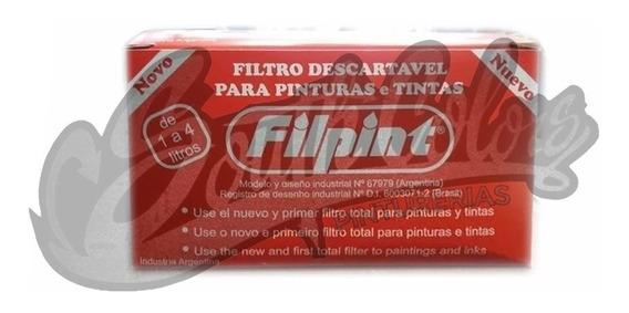 Filpint Filtro Descartable Para Pintura X Caja Southcolors