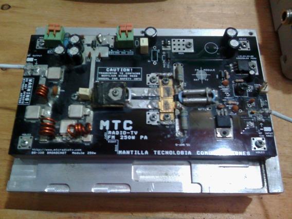 Modulo Amplificador Fm Amp300 De 300 Vatios (para Reparar)